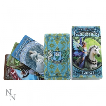 Anne Stokes Tarot Karten Legends