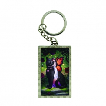 3D Keyring Cat and Fairy - James Ryman