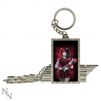 3D Keyring Dark Jester - James Ryman