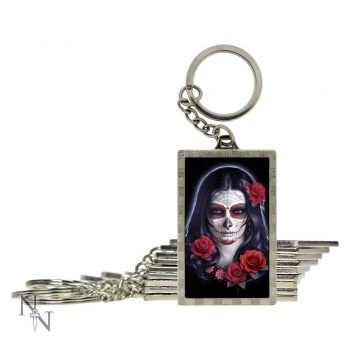 3D Keyring Sugar Skull - James Ryman