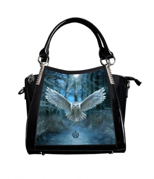 Awaken your Magic Handtasche in Lack und 3D Bild - Anne Stokes
