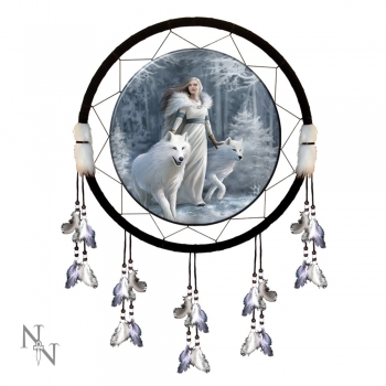 Winter Guardians Dreamcatcher 60cm - Anne Stokes