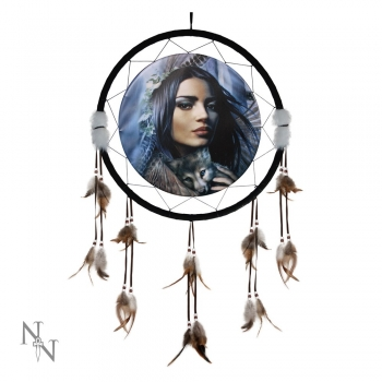 Mother of Wolves Dreamcatcher 60cm