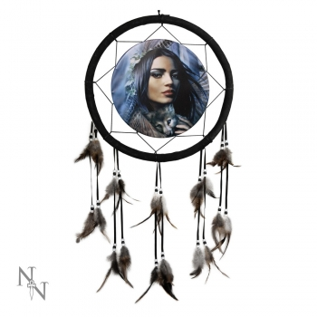 Mother of Wolves Dreamcatcher 32,5 cm