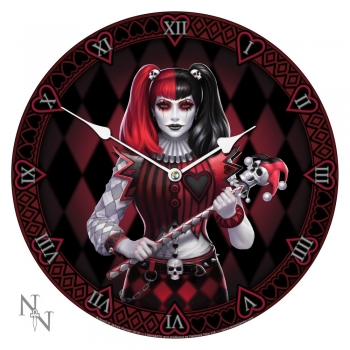 Dark Jester Clock Bilderuhr - James Ryman