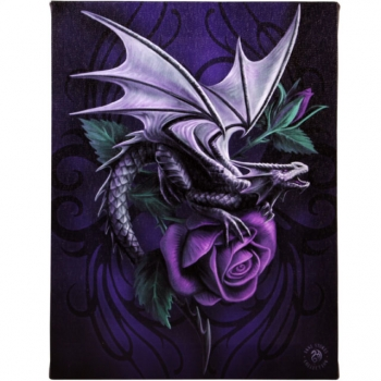 Dragon Beauty Bild 25 x 19 cm - Anne Stokes