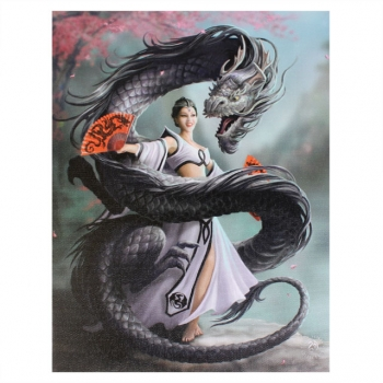 Dragon Dancer Bild 25 x 19 cm - Anne Stokes