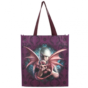 Dragonkin shopping bag by - Anne Stokes
