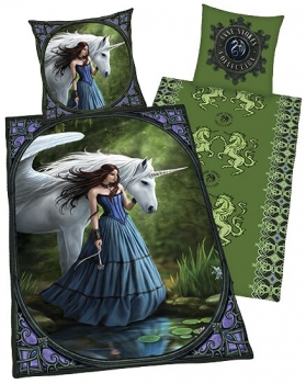 Fantasy Bettwäsche Enchanted pool - Anne Stokes