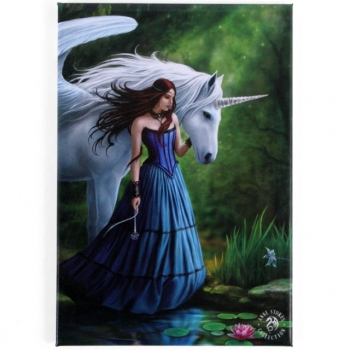Enchanted Pool - Anne Stokes