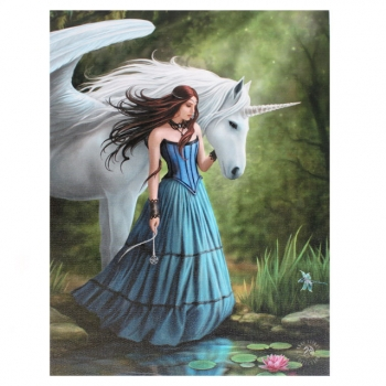 Enchanted pool Bild 25 x 19 cm - Anne Stokes