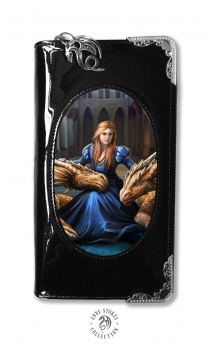 Fierce Loyalty purse mit 3D Bild- Anne Stokes