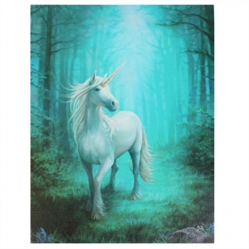Forest Unicorn Bild 25 x 19 cm - Anne Stokes
