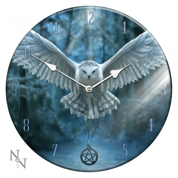 Awaken Your Magic Glas Bilderuhr - Anne Stokes