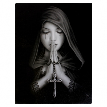 Gothic prayer Bild 25 x 19 cm - Anne Stokes