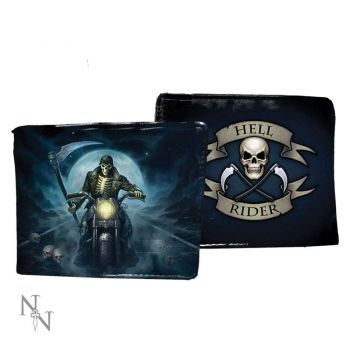 Men's Wallet - Geldbörse - Hell Rider 11cm - James Ryman