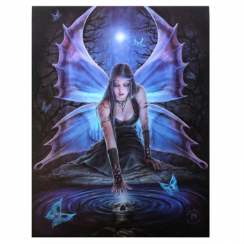 Immortal Flight Bild 25 x 19 cm - Anne Stokes