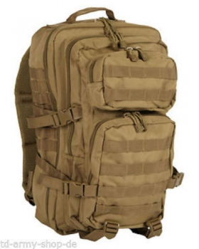 US Assault Pack SM khaki