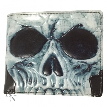Men's Wallet - Skull 11cm