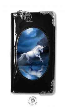 Moonlight unicorn purse mit 3D Bild - Anne Stokes