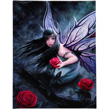 Rose Fairy Bild 25 x 19 cm - Anne Stokes