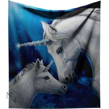 Sacred Love Unicorn Throw - Lisa Parker 160cm