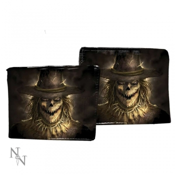 Men's Wallet - Geldbörse - Scarecrow 11cm - James Ryman