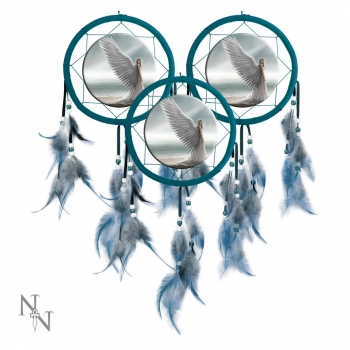 Spirit Guide Dreamcatcher 15cm - Anne Stokes