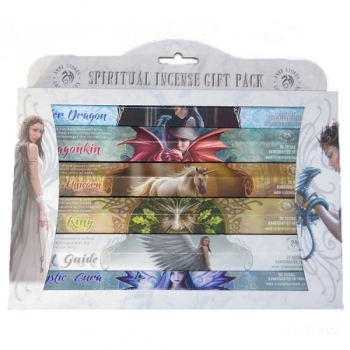 Räucherstäbchen Anne Stokes Elements Gift Set Incense Sticks - Spiritual  6er Pack