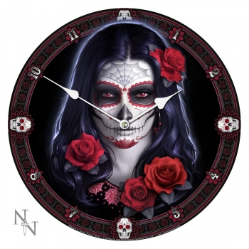 Sugar Skull Bilderuhr - James Ryman