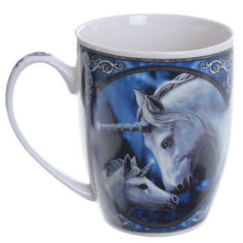 The Sacred Love Einhorn Porzellan Tasse - Lisa Parker