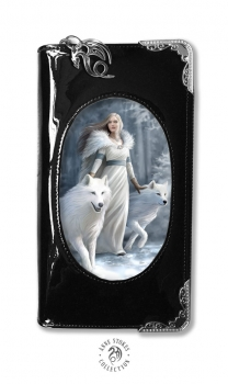 Winter Guardian purse mit 3D Bild - Anne Stokes