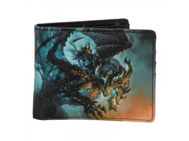 Men's Wallet - Geldbörse - Wings of Death - James Ryman