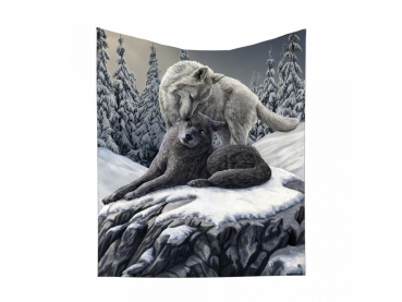 Snow Kisses Throw - Lisa Parker 160cm