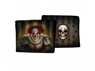 Men's Wallet - Geldbörse - Evil Clown - James Ryman