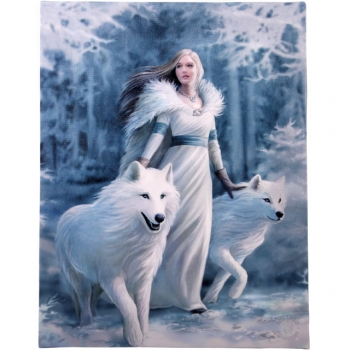 Winter guardian 25 x 19 - Anne Stokes