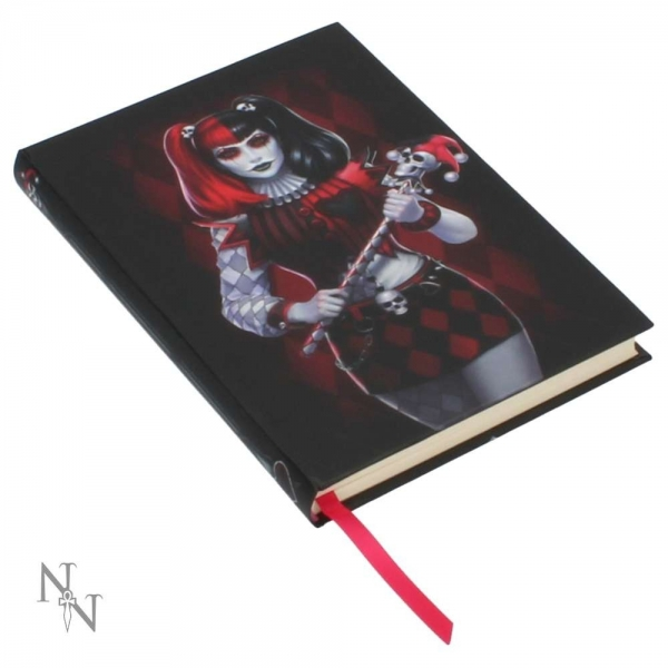 Embossed Journal Dark Jester 17cm - James Ryman