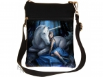 Shoulder Bag 23 cm Blue Moon - Anne Stokes